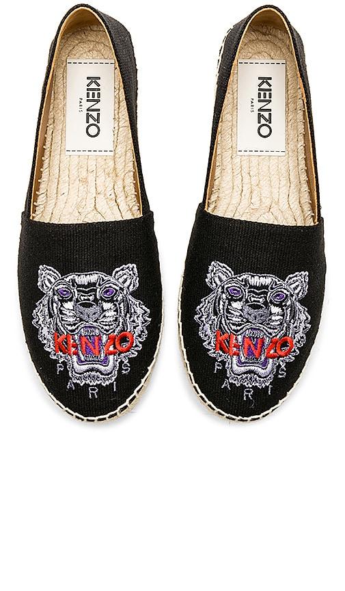 Kenzo Classic Tiger Espadrille in Black