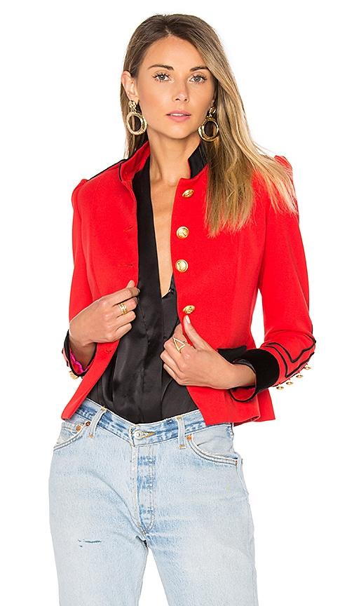 La Condesa Condesa Color Jacket in Red