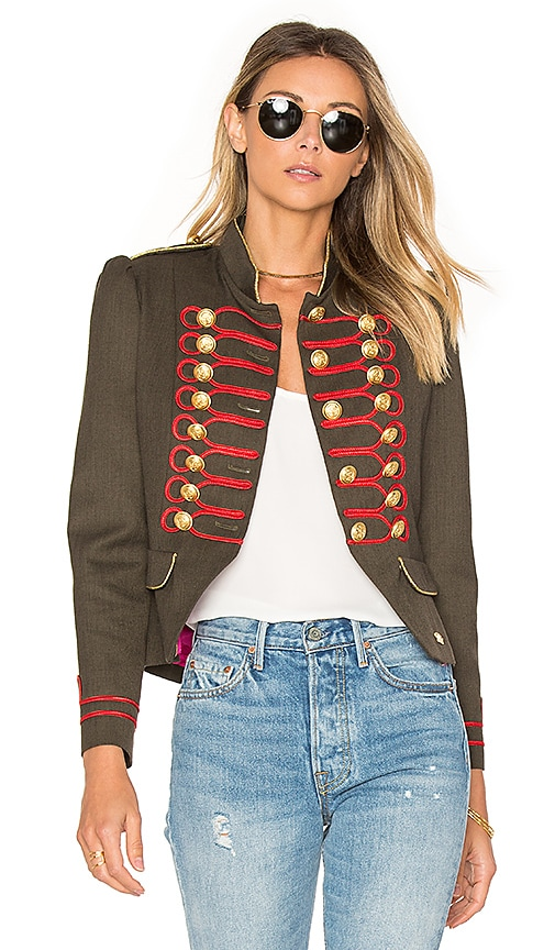 La Condesa Condesa Beatle Jacket in Army