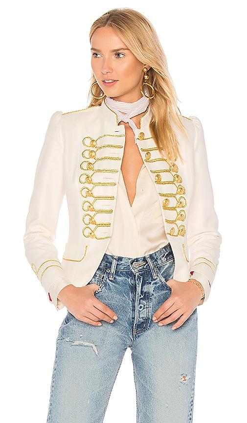 La Condesa Beatle Jacket in White