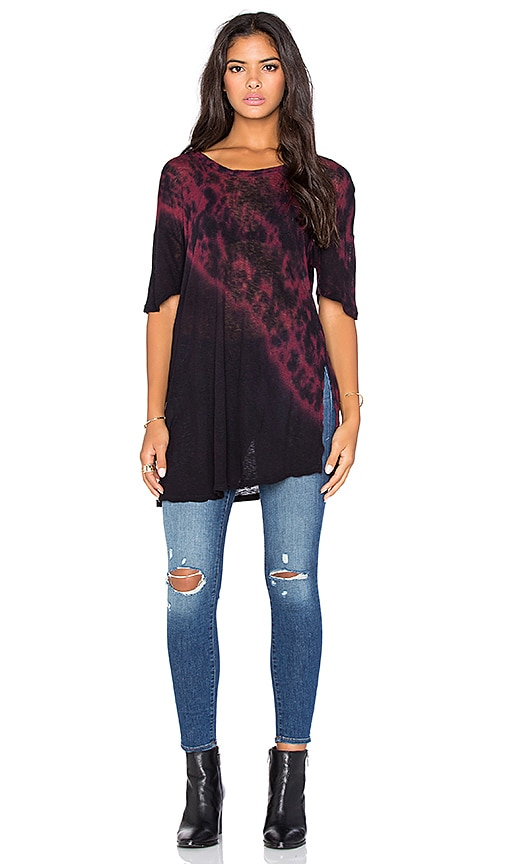 LACAUSA Smith Tee in Cleo Spill