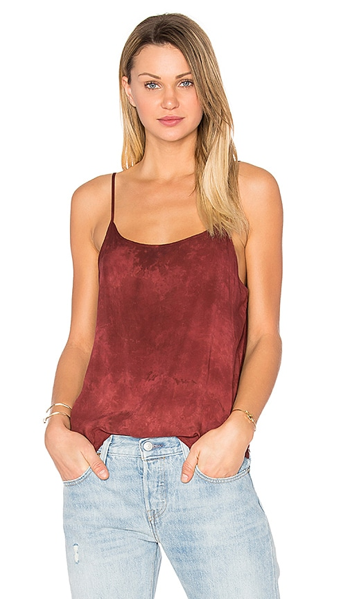 LACAUSA Easy Slip Tank in Red