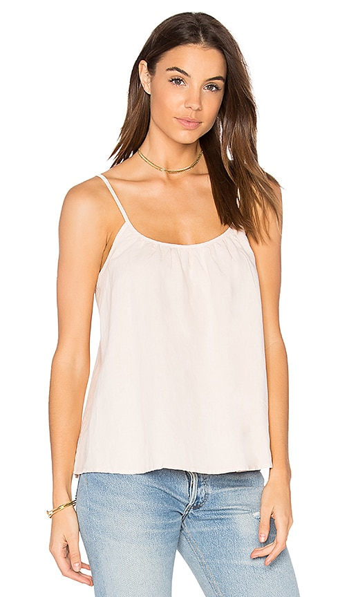 LACAUSA Shush Top in Pink