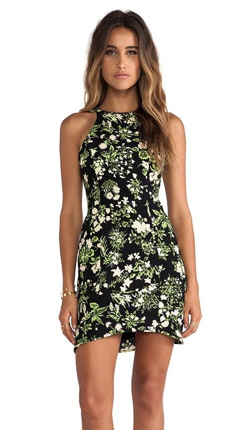 Fluro Floral Dress