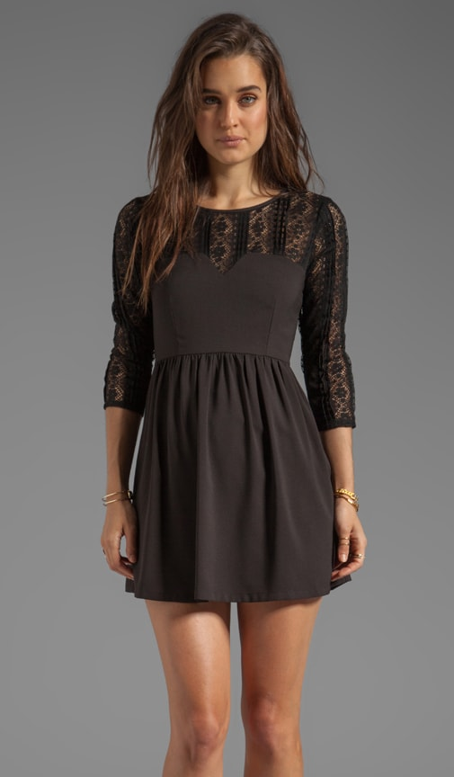 Intermix Lace Dress