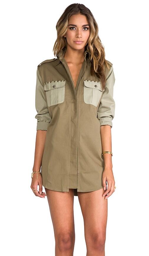 Duty Bound Shirt Dress