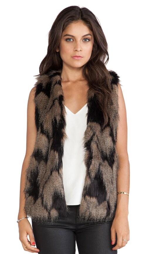 Longline Faux Fur Vest