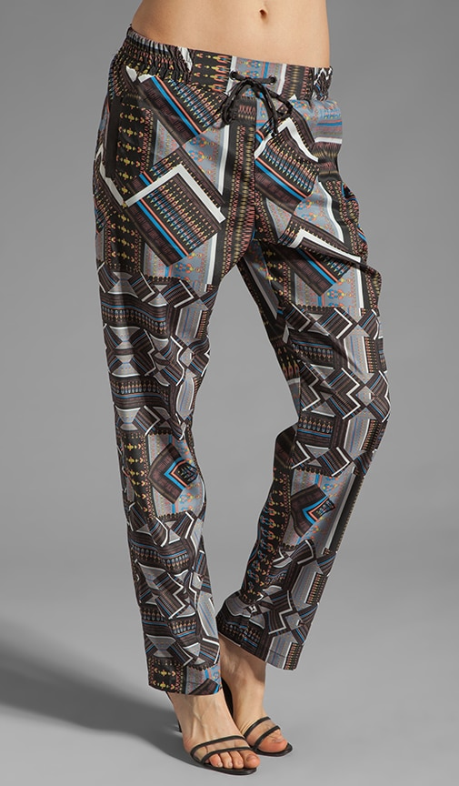 Tribal Jigsaw Pants