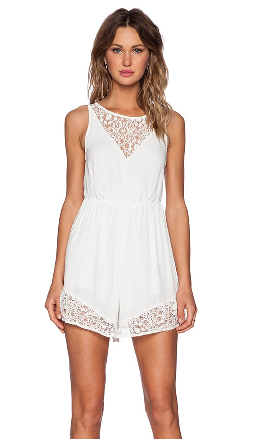 Ladakh Local Girl Romper in White