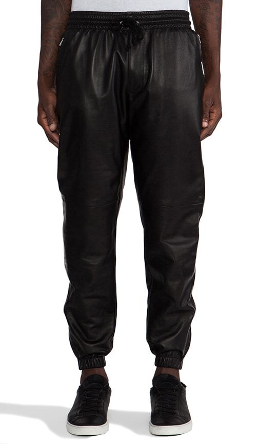 Leather Zip Pant