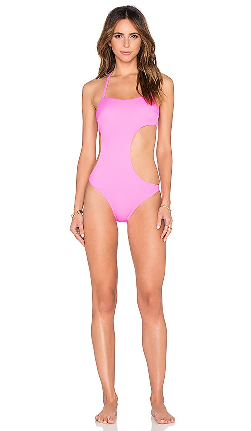 L'Agent by Agent Provocateur Agata Swimsuit in Pink