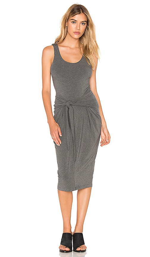 L'AGENCE Ivy Dress in Gray