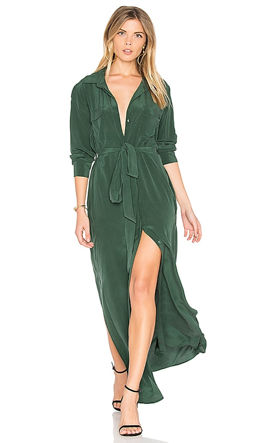 L'AGENCE Cameron Dress in Green