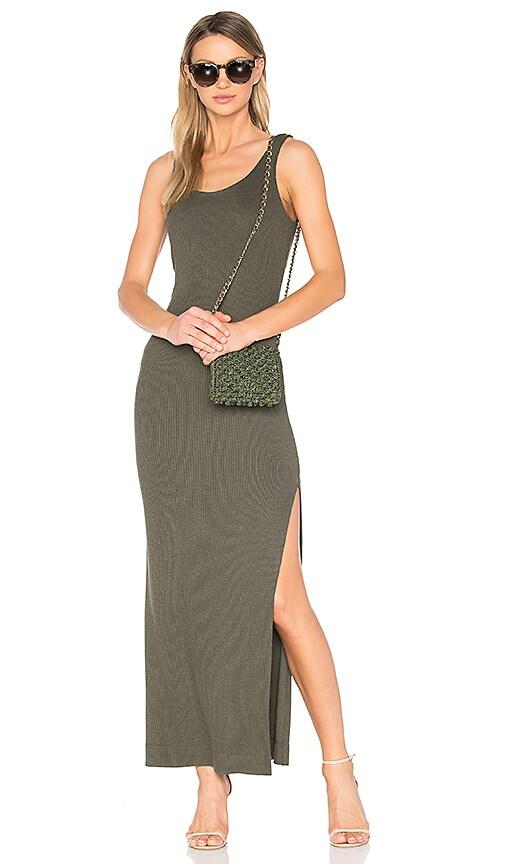 L'AGENCE Ada Dress in Green