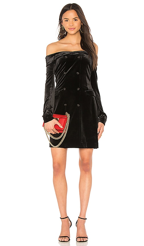 L'AGENCE Romilly Dress in Black