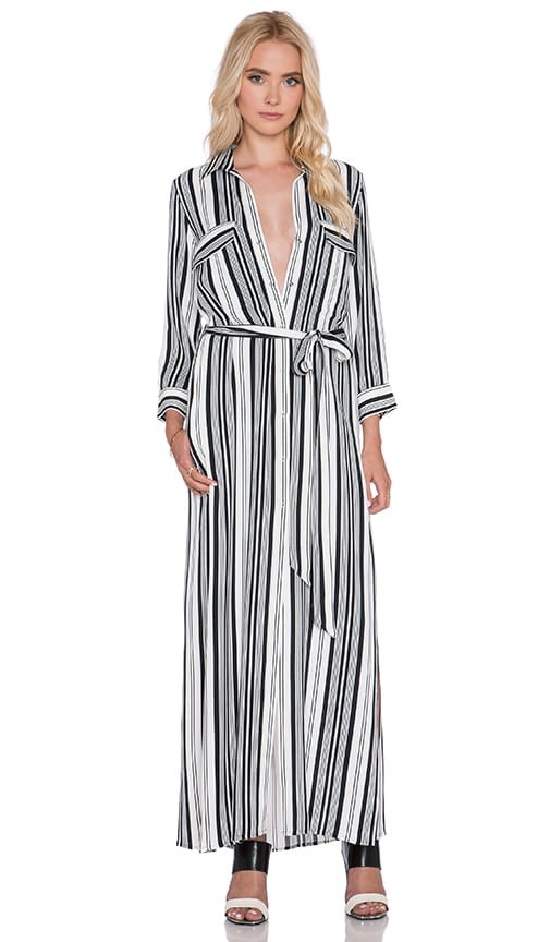 Alani Long Sleeve Henley Dress