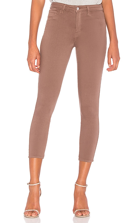 L'AGENCE Margot Skinny Jean in Pine Bark