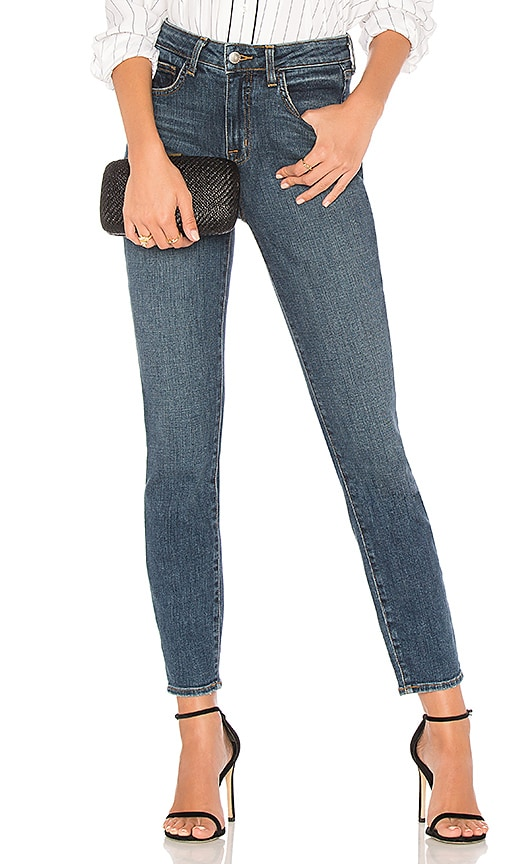 L'AGENCE High 10 Skinny Jean in Classic Vintage