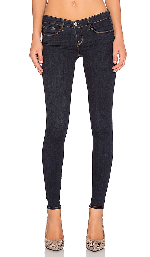 L'AGENCE Chantal Low Rise Skinny in Midnight