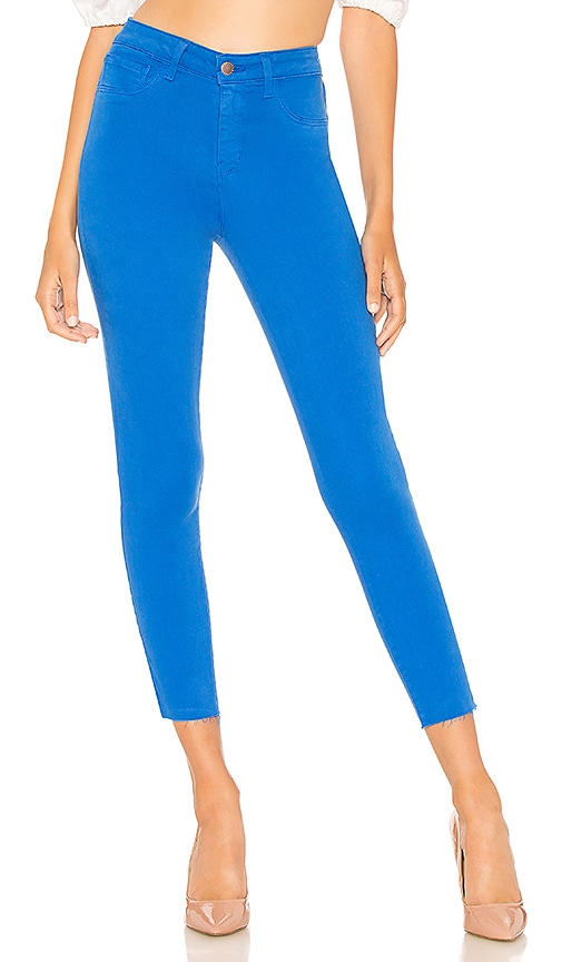 L'AGENCE Margot High Rise Skinny Jean in Princess Blue