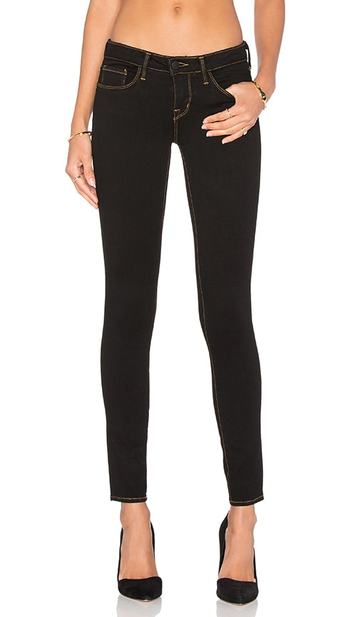 L'AGENCE Chantal Low Rise Skinny in Angelina