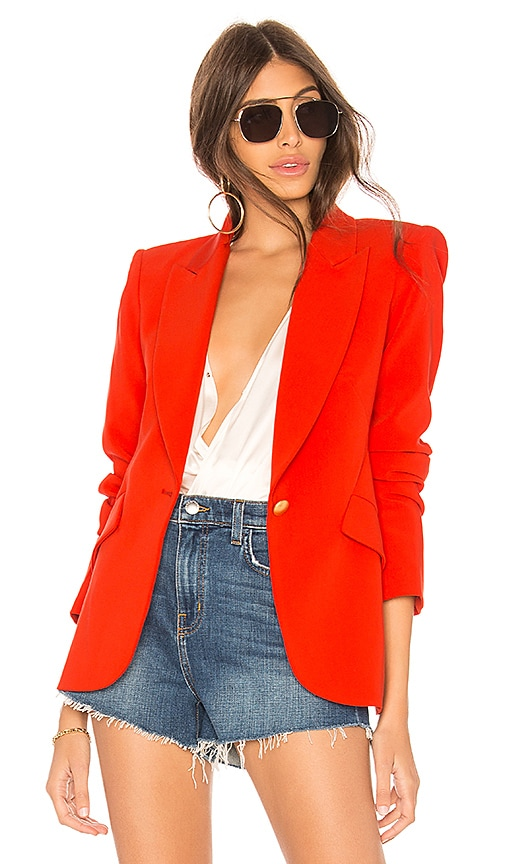 L'AGENCE Chamberlain Blazer in Red