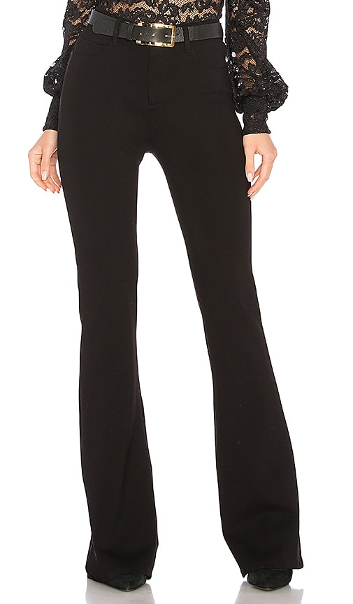 L'AGENCE Lola Flare Pant in Black
