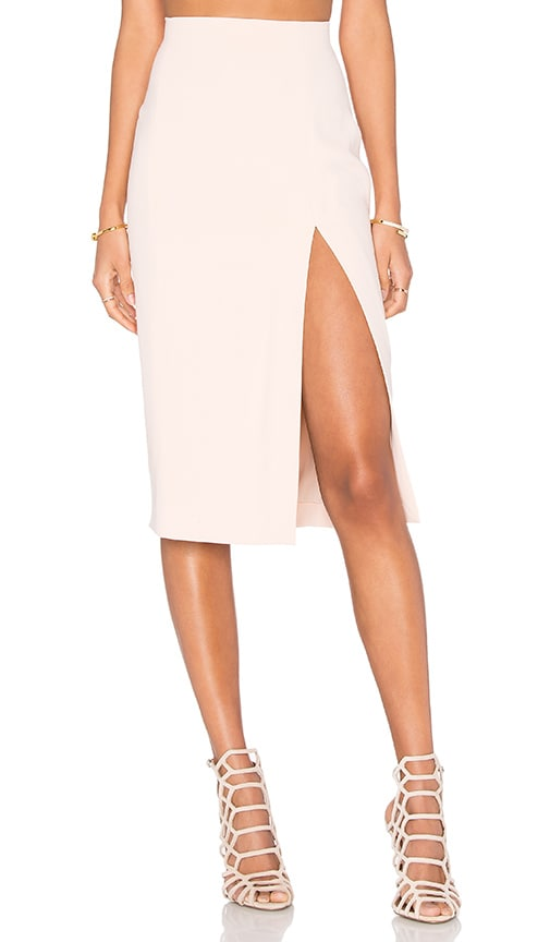 L'AGENCE Yvonne Pencil Skirt in Blush