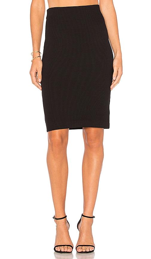 L'AGENCE Georgie Skirt in Black