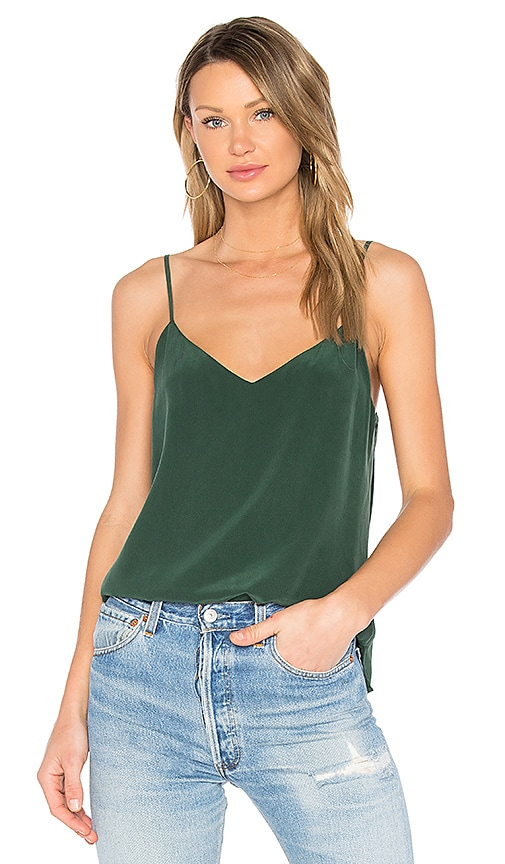 L'AGENCE Jane Tank in Green