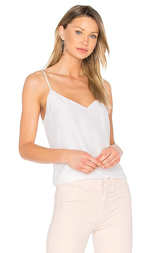 L'AGENCE Jane Tank in White
