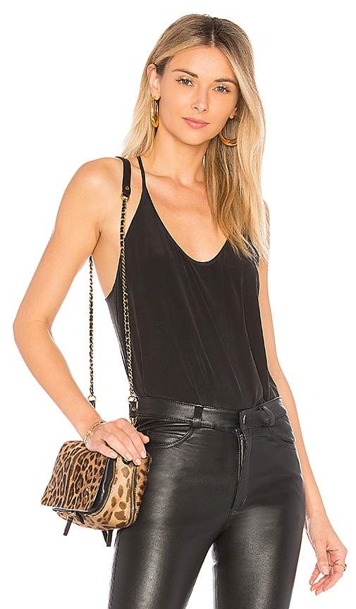 L'AGENCE Mary Jane Tank in Black