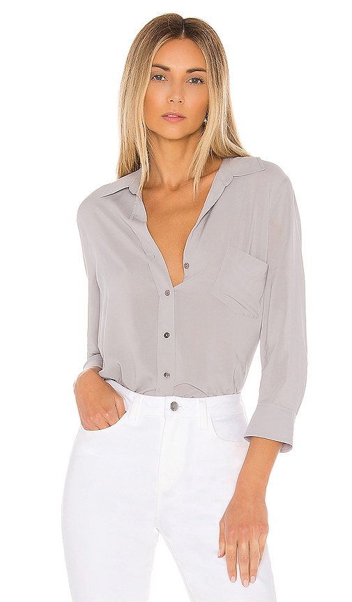 Ryan 3/4 Sleeve Blouse by L'agence