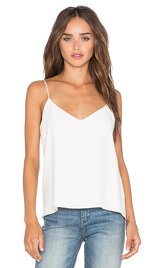 L'AGENCE Jane Tank in Ivory