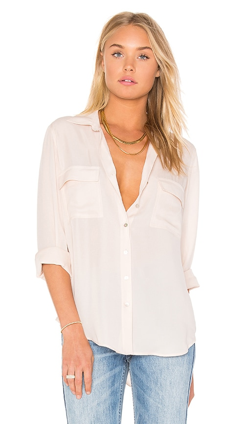 Margaret Double Pocket Blouse