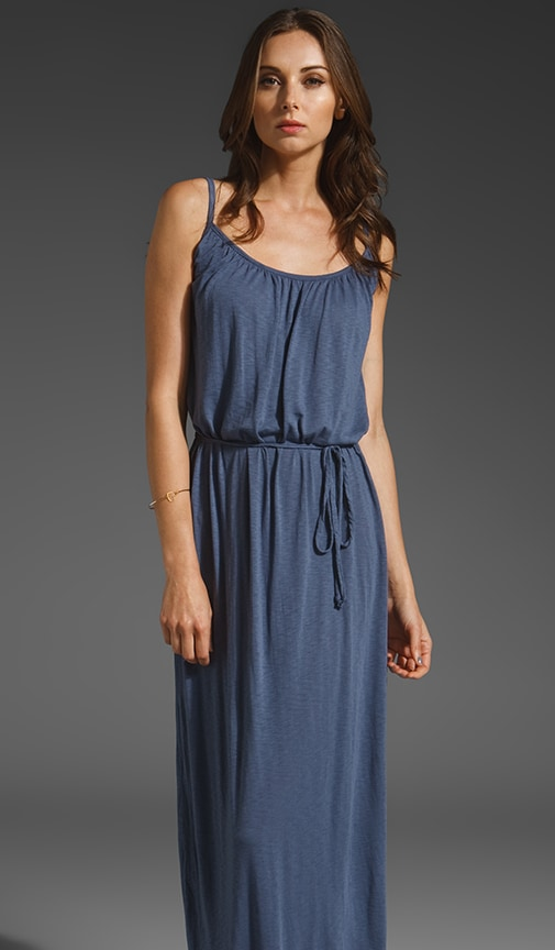 Slub Jersey Maxi Cami Dress