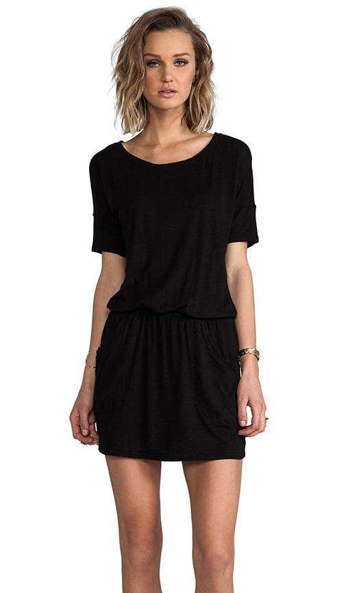 Short Sleeve Ballet Jersey Dress
