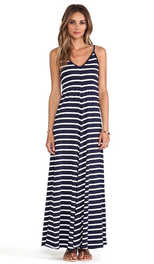 Classic Stripe Cami Maxi Dress