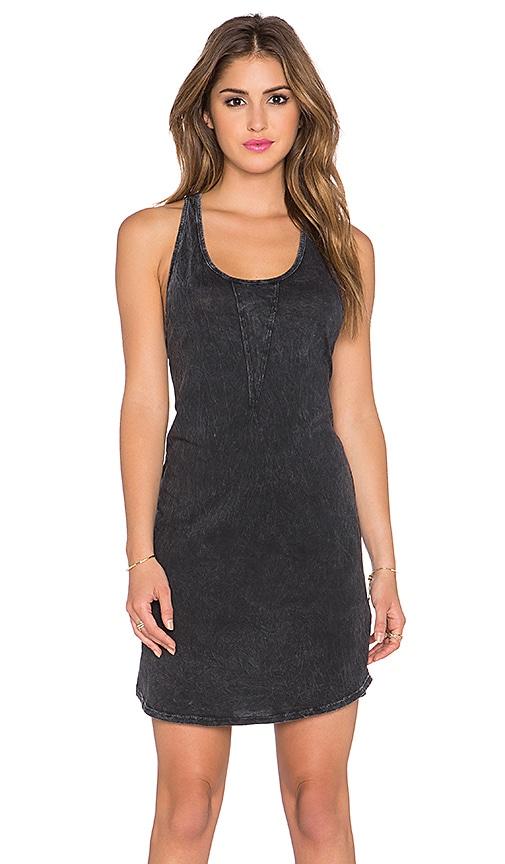 LA Made Noelle Tank Dress in Black