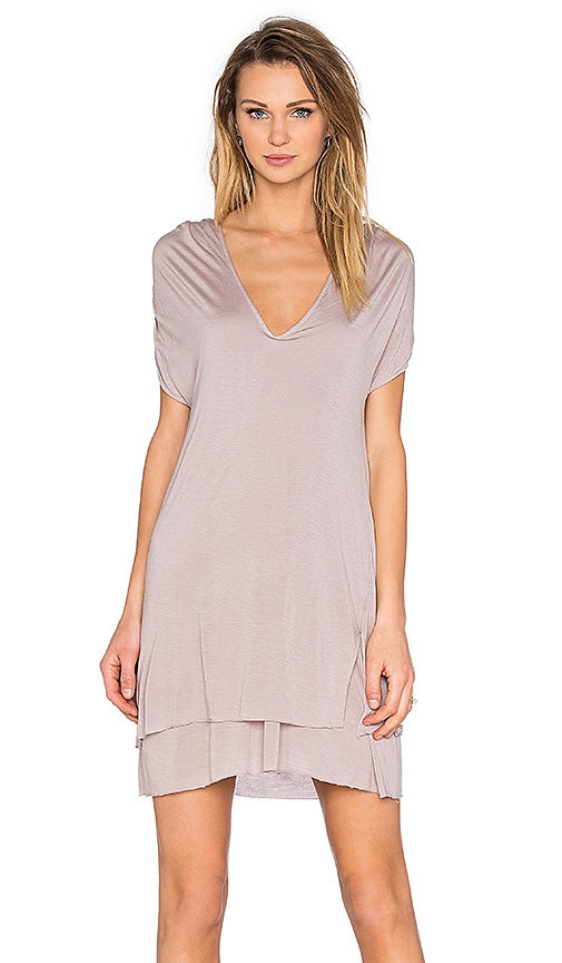 LA Made Sylvia Dress in Gray