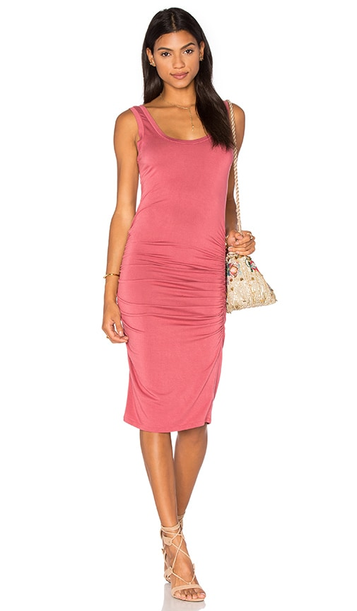 LA Made Frankie Dress in Rose
