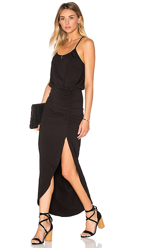 LA Made Reese Maxi Dress in Black