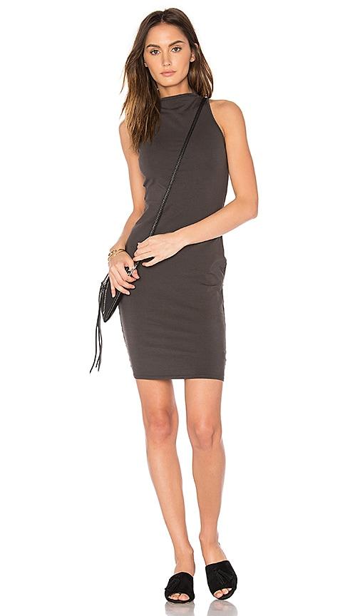 LA Made Suzie Dress in Charcoal