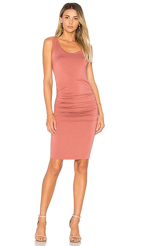 LA Made Frankie Tank Dress in Rose