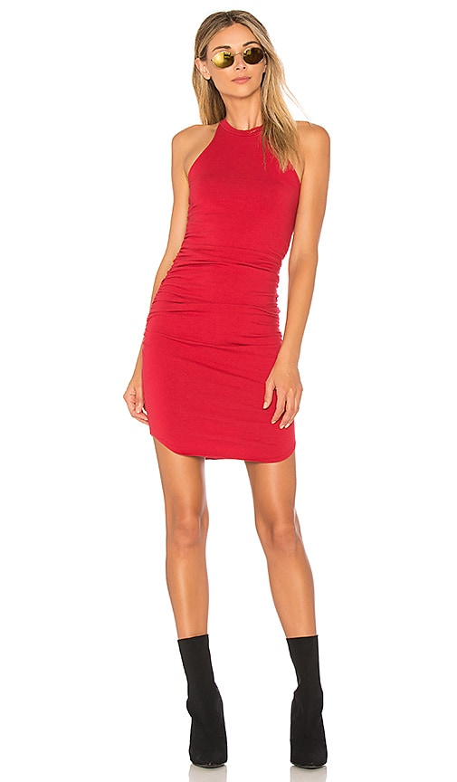 LA Made Kravitz Dress in Red