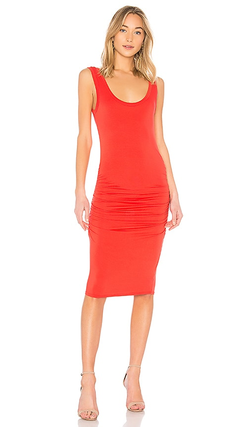 LA Made Frankie Dress in Red