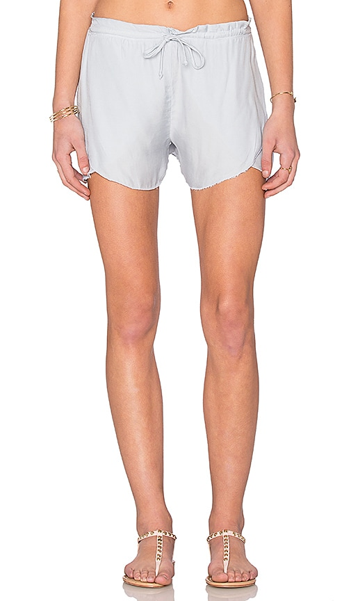 LA Made Dina Butterfly Short in Gray