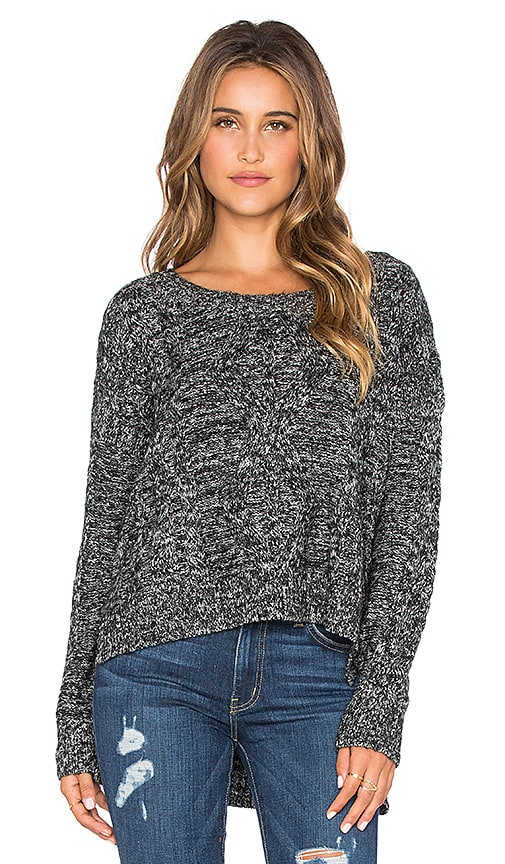 Lightweight Cable Pullover Sweater