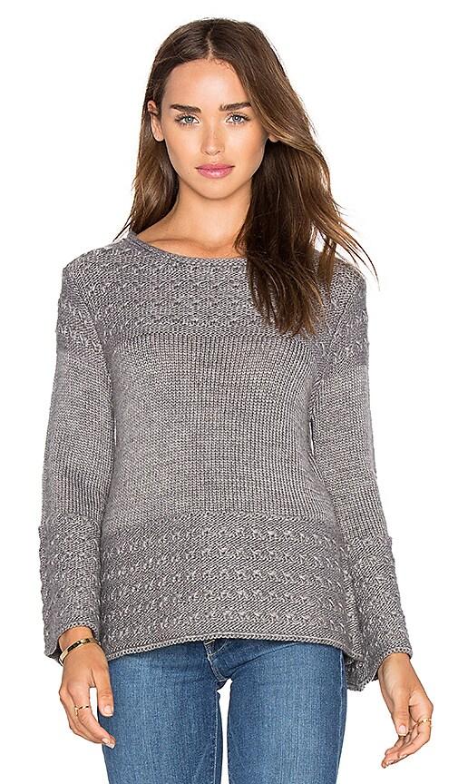 LA Made Olivia Pullover in Gray