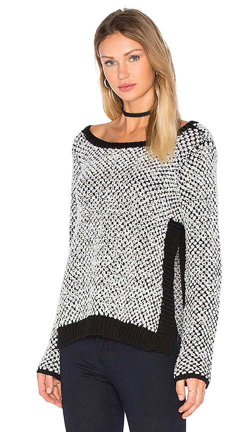 Aubrey Side Slit Sweater